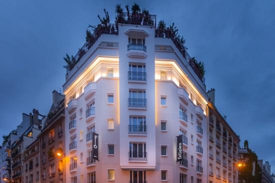 Hotel Félicien Paris - Situation